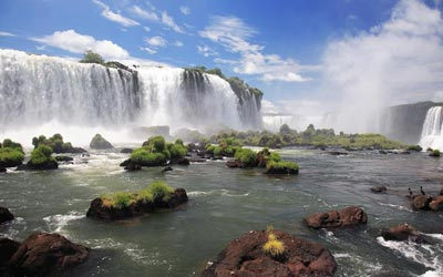 Backpacken Zuid Amerika - Iguazu watervallen - Argentinie