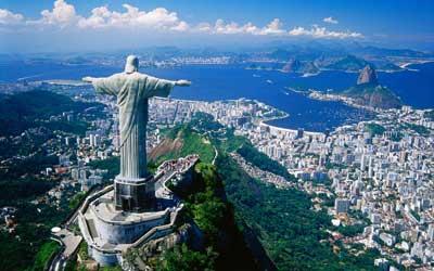 Backpacken Zuid Amerika - Jezus beeld - Rio de Janeiro - Brazilie