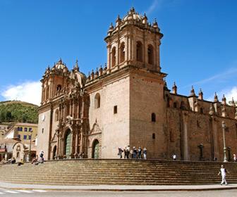 Cuzco architectuur Peru