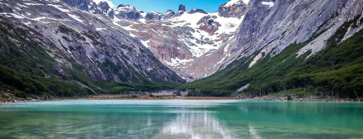 Laguna Esmeralda is een van de meest populaire bestemmingen in Patagonië