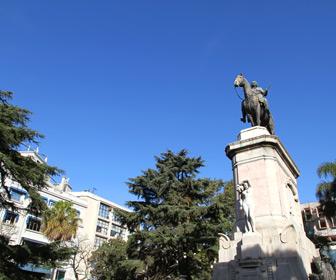 Monument in Uruguay