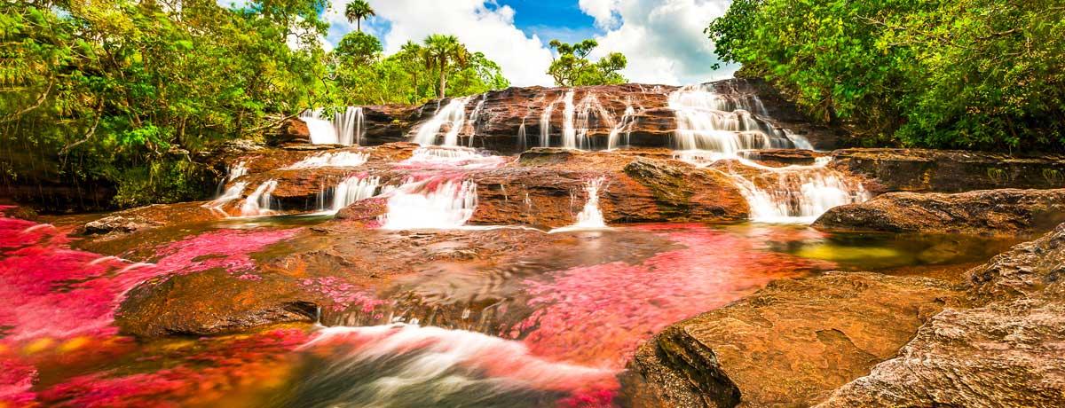 Cana Cristales in Colombia is de prachtige gekleurde rivier