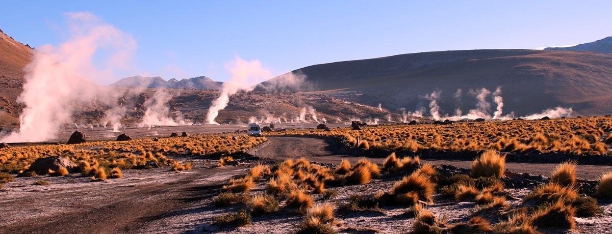 El Tatio geisers in Chili