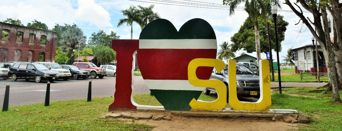 Paramaribo - de hoofdstad van het prachtige land Suriname