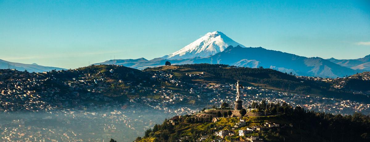 Quito - de  hoogste hoofdstad van de wereld en van Ecuador