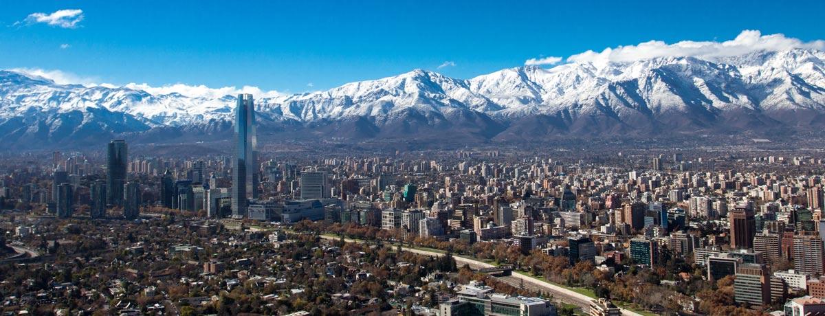Santiago - de hoofdstad van Chili