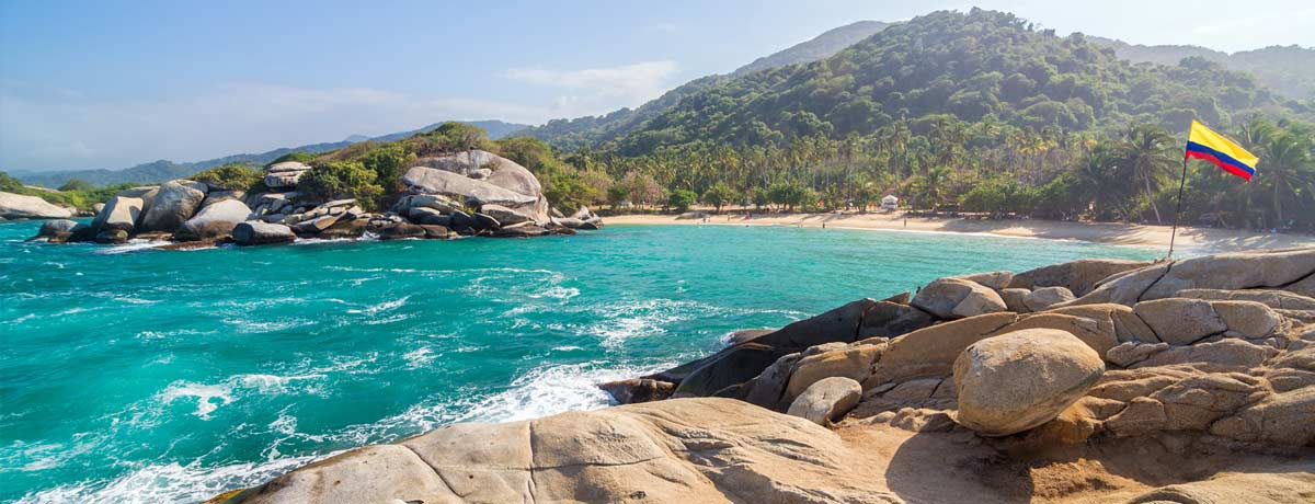 Tayrona National Parkl in Colombia