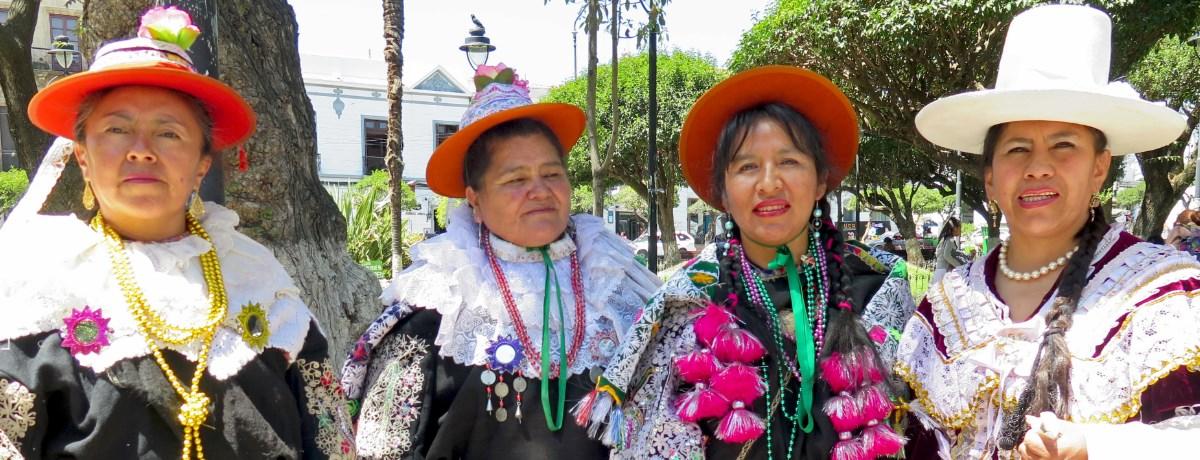 Sucre - de hoofdstad van het populaire backpackland Bolivia