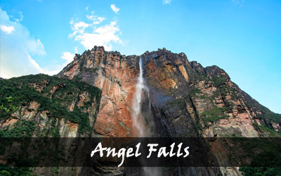 Backpacken Zuid-Amerika - Angel Falls - Venezuela