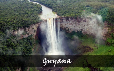 Backpacken Zuid-Amerika - Guyana