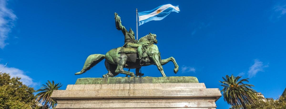 Buenos Aires - de hoofdstad van het mooie land Argentinië