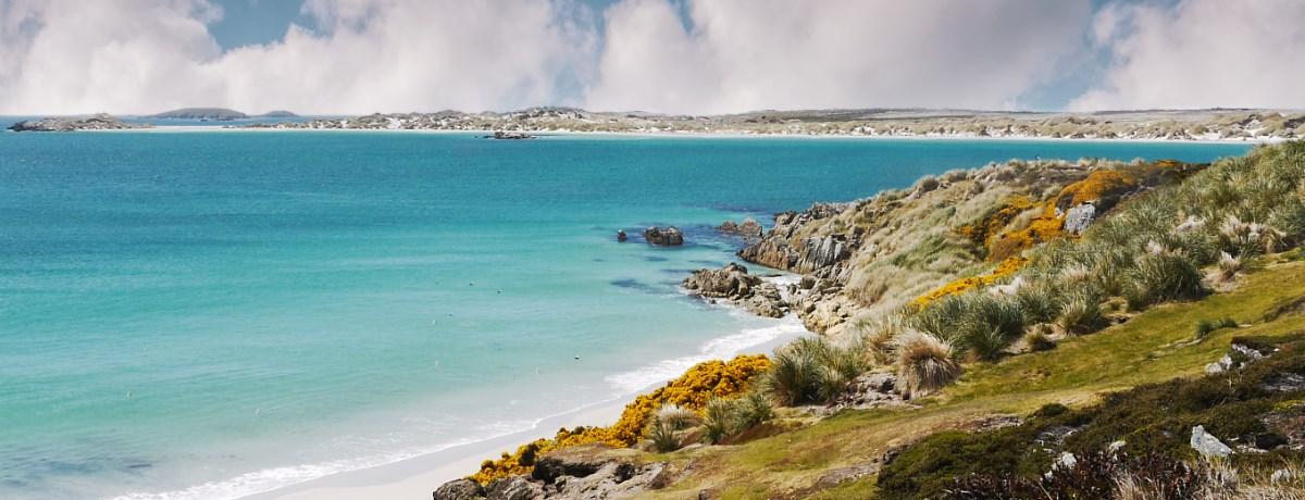 Kustlijn Falklandeilanden