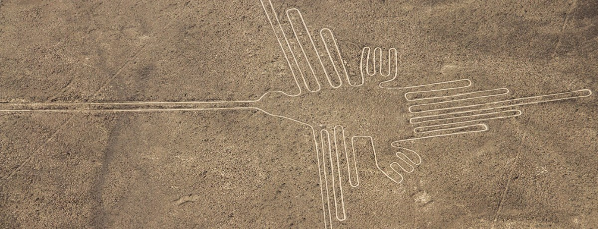 Nazca lijnen in Peru