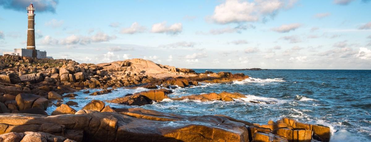 Vuurtoren in Cabo Polonio in Rocha, Uruguay
