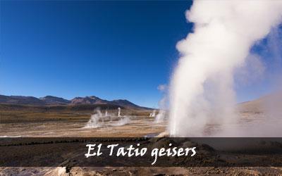 Backpacken Zuid-Amerika - El Tatio geisers - Chili
