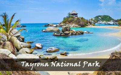 Backpacken Zuid-Amerika - Tayrona National Park - Colombia
