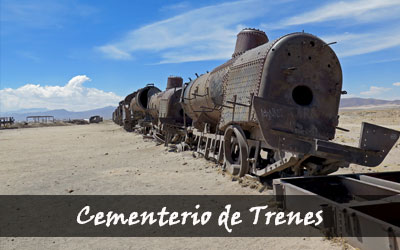 Backpacken Zuid-Amerika - Cementerio de Trenes - Uyuni - Bolivia