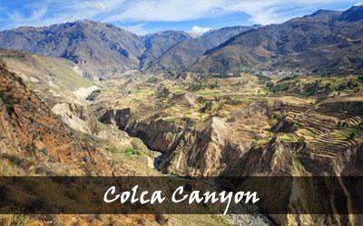Backpacken Zuid-Amerika - Colca Canyon - Peru