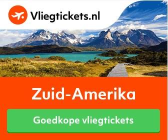 Goedkope vliegtickets Zuid-Amerika op Vliegtickets.nl