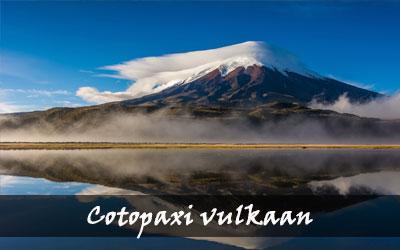 Backpacken Zuid-Amerika - Cotopaxi vulkaan - Ecuador