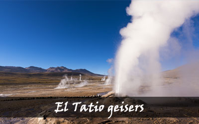 Backpacken Zuid-Amerika - El Tatio geisers - Chili