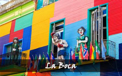 Backpacken Zuid-Amerika - La Boca is de meest kleurrijke wijk van Buenos Aires - Argentinië