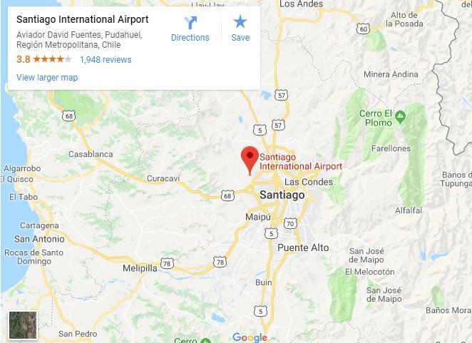 Santiago Airport - Pudahuel vliegveld