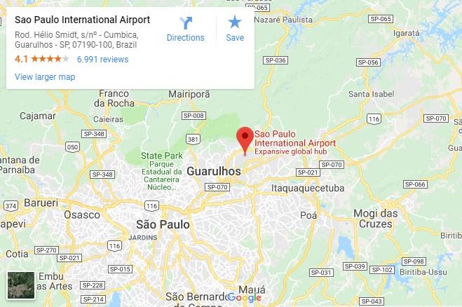 Vliegtickets Sao Paulo International Airport