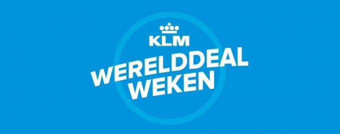 KLM Werelddeals tijdens de KLM Werelddeal Weken