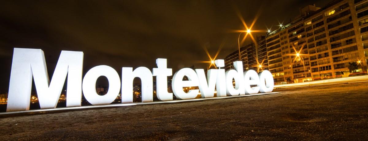 Montevideo is de hoofdstad van het mooie land Uruguay