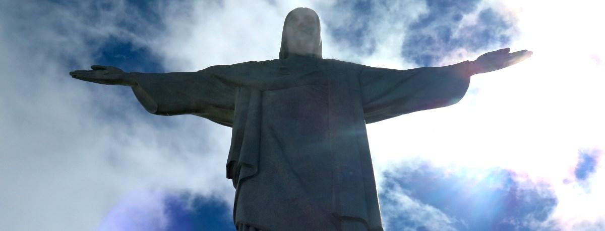 Christus de verlosser beeld in Rio, ook wel Cristo Redentor genoemd