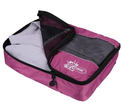 Packing cubes zijn handig om je backpack goed te organiseren