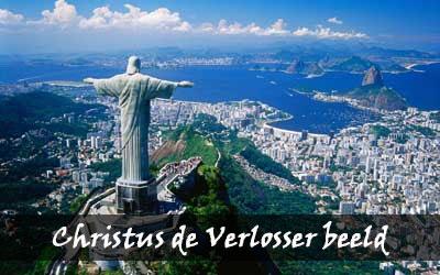 Backpacken Zuid-Amerika - Christus de Verlosser beeld - Brazilië