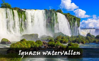 Backpacken Zuid-Amerika - Iguazu watervallen- Brazilië
