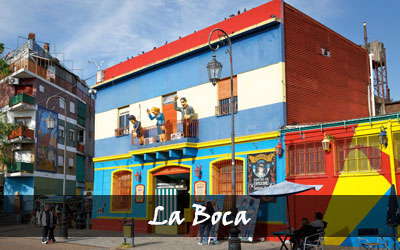 Backpacken Zuid-Amerika - La Boca - Argentinië