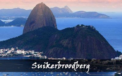 Backpacken Zuid-Amerika - Suikerbroodberg - Brazilië