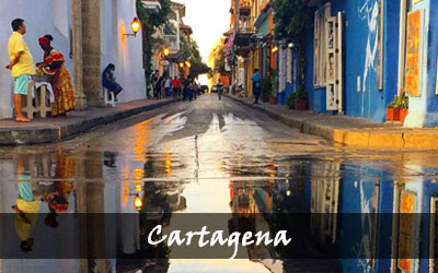 Backpacken Zuid-Amerika - Cartagena - Colombia