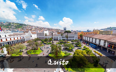 Backpacken Zuid-Amerika - Quito - Ecuador