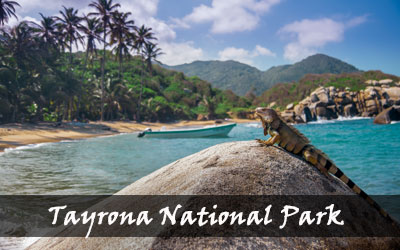 Backpacken Zuid-Amerika - Tayrona National Park - Colombia
