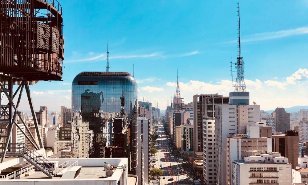 Sao Paulo de grootste stad van Brazilië