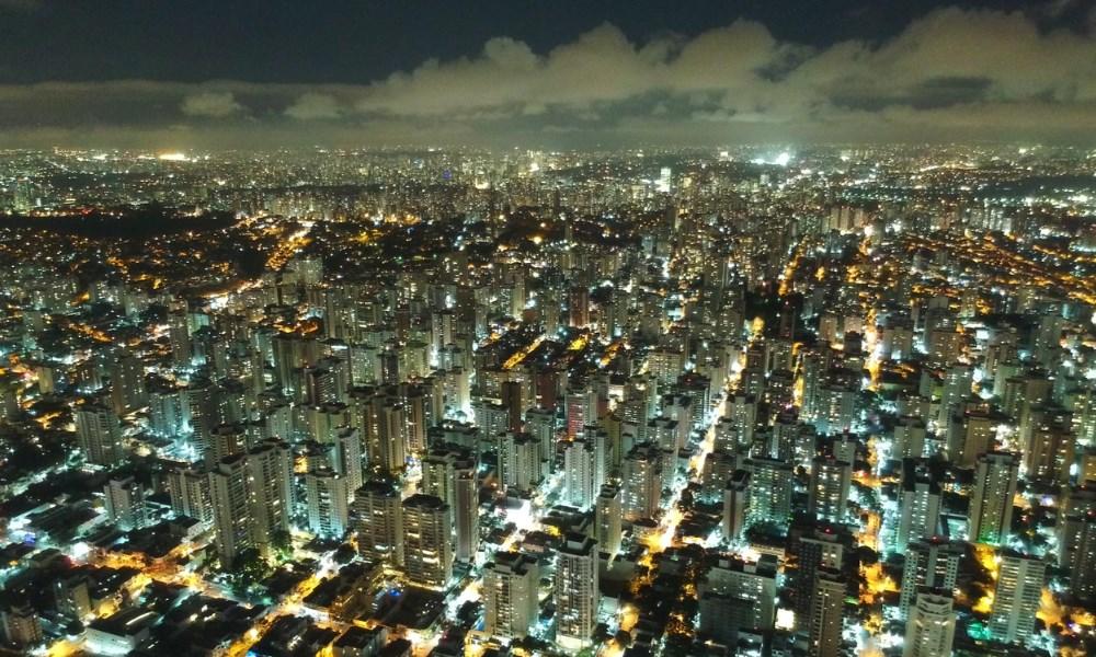 Sao Paulo by night een prachtig gezicht