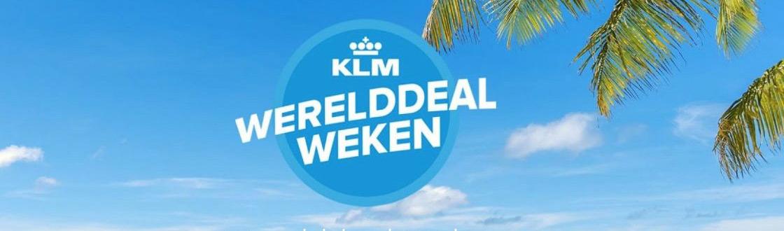 KLM Werelddeal Weken 2020