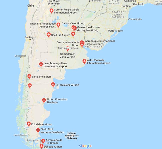 Vliegvelden Argentinië
