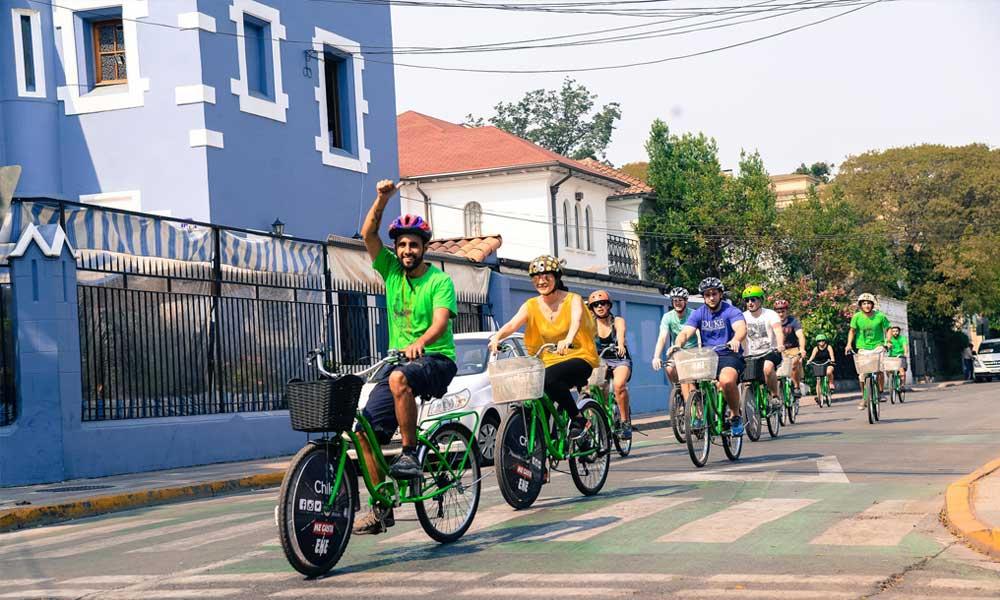 Baja Bikes fietstocht Bogota